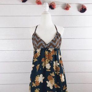 O'Neill • Autumn Floral Print Flowy Maxi Dress